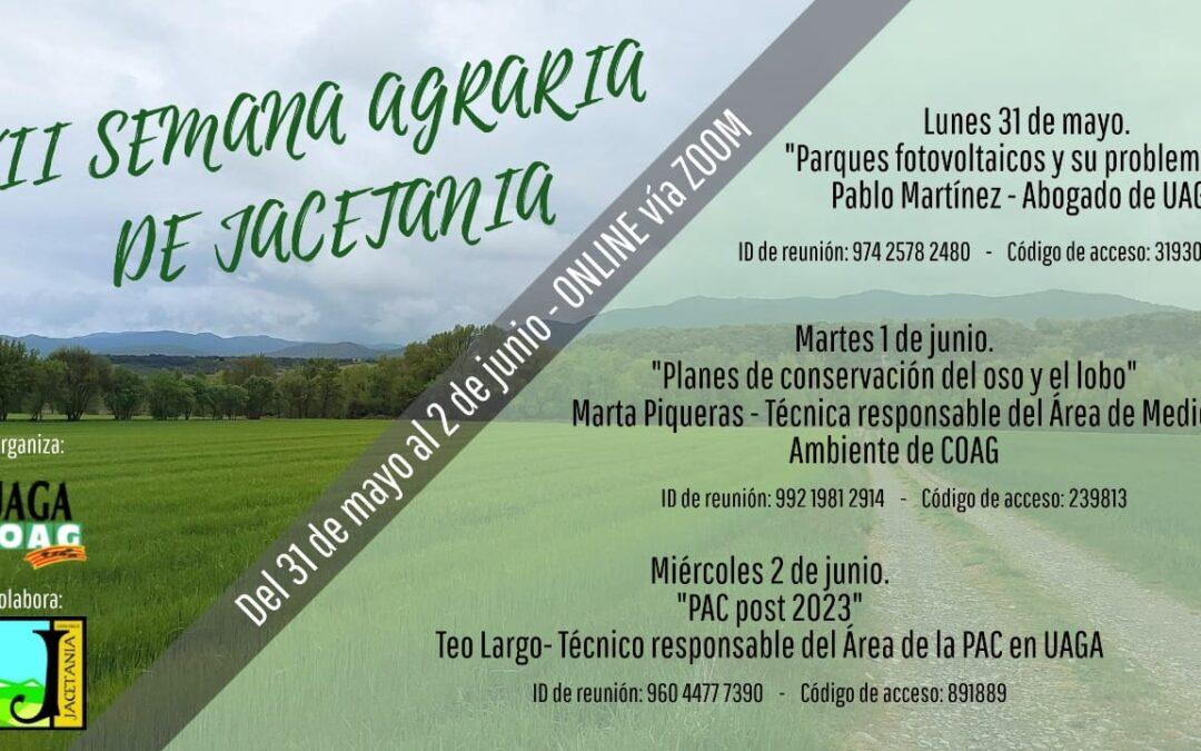 Video de la Semana Agraria de la Jacetania (III)
